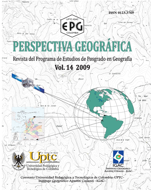 Sogamoso's Urbanization Fractal's Analysis During the 1948-2004's Period