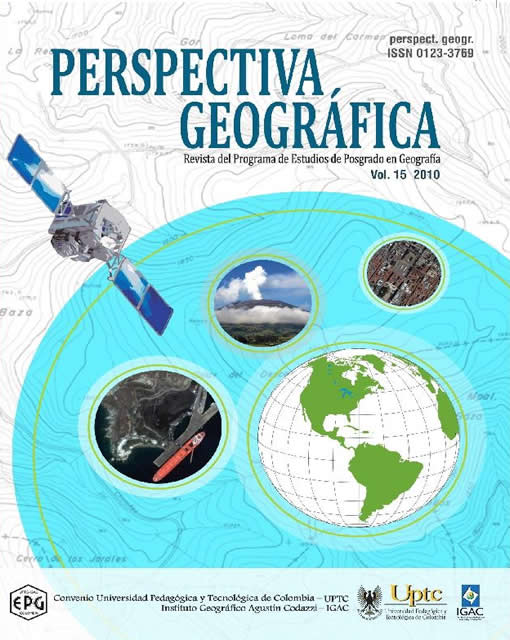 Spatial organization of  the geographic colombian region of  Alta Guajira